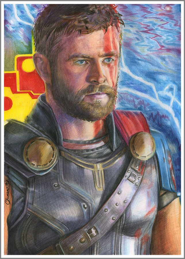 Chris Hemsworth par chi-chi-ku